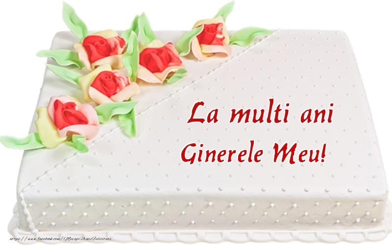 Felicitari frumoase de zi de nastere pentru Ginere | La multi ani ginerele meu! - Tort