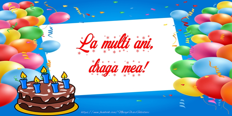 Felicitari frumoase de zi de nastere pentru Iubita | La multi ani, draga mea!