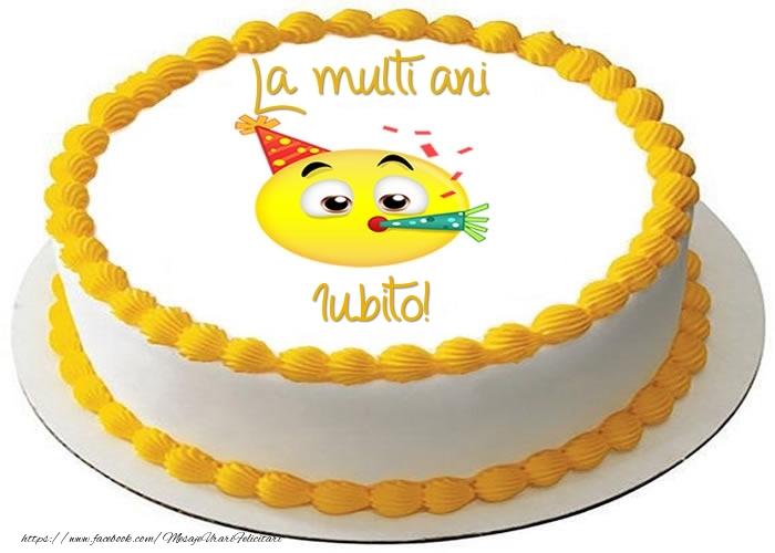 Felicitari frumoase de zi de nastere pentru Iubita | Tort La multi ani iubito!