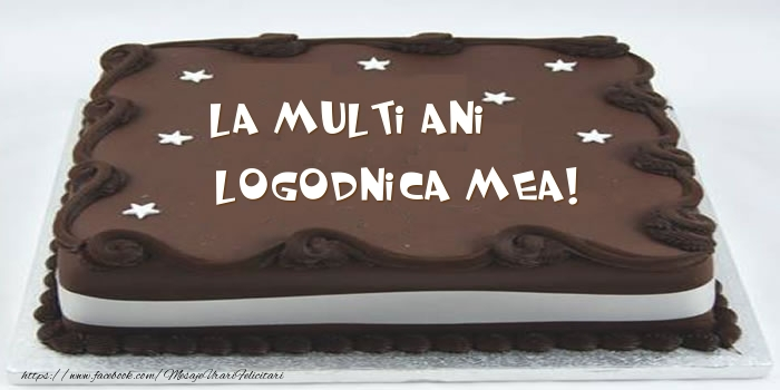 Felicitari frumoase de zi de nastere pentru Logodnica | Tort - La multi ani logodnica mea!