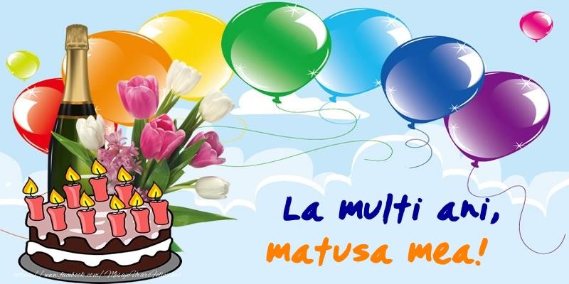 Felicitari frumoase de zi de nastere pentru Matusa | La multi ani, matusa mea!