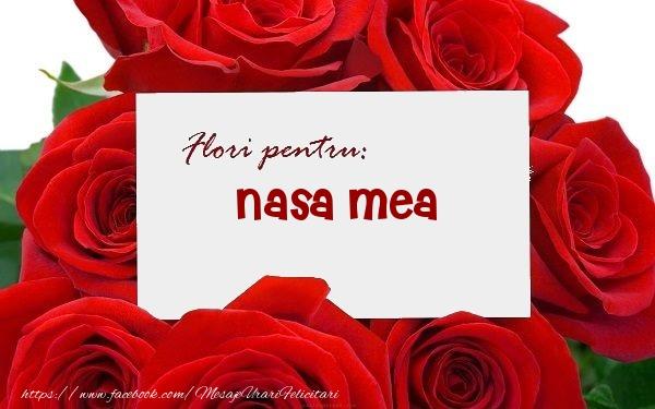 Felicitari frumoase de zi de nastere pentru Nasa | Flori pentru: nasa mea