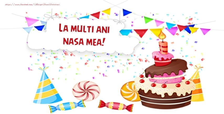Felicitari frumoase de zi de nastere pentru Nasa | La multi ani nasa mea!