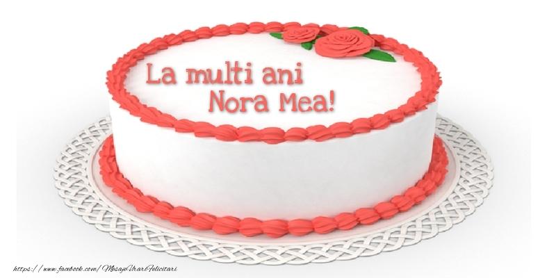 Felicitari frumoase de zi de nastere pentru Nora | La multi ani nora mea!