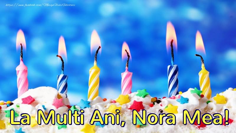 Felicitari frumoase de zi de nastere pentru Nora | La multi ani, nora mea!