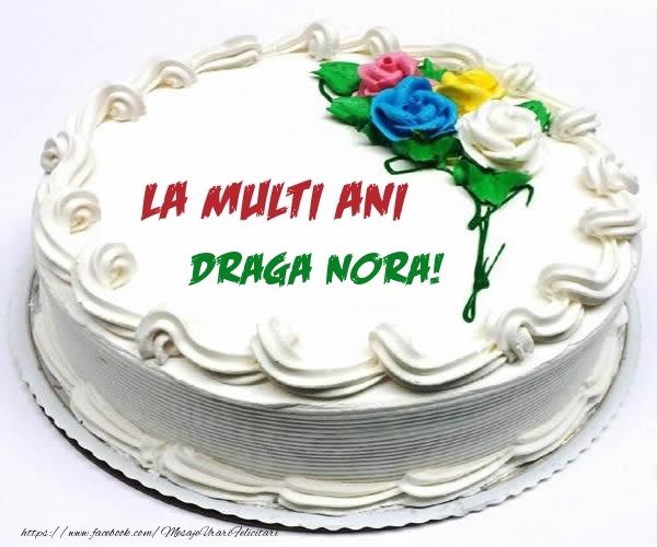 Felicitari frumoase de zi de nastere pentru Nora | La multi ani draga nora!