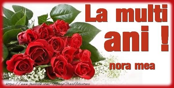 Felicitari frumoase de zi de nastere pentru Nora | La multi ani nora mea