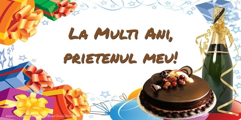 Felicitari frumoase de zi de nastere pentru Prieten | La multi ani, prietenul meu!