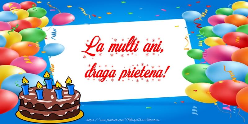Felicitari frumoase de zi de nastere pentru Prietena | La multi ani, draga prietena!