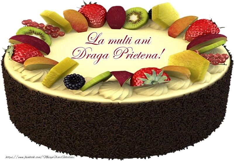 Felicitari frumoase de zi de nastere pentru Prietena   La multi ani draga prietena!