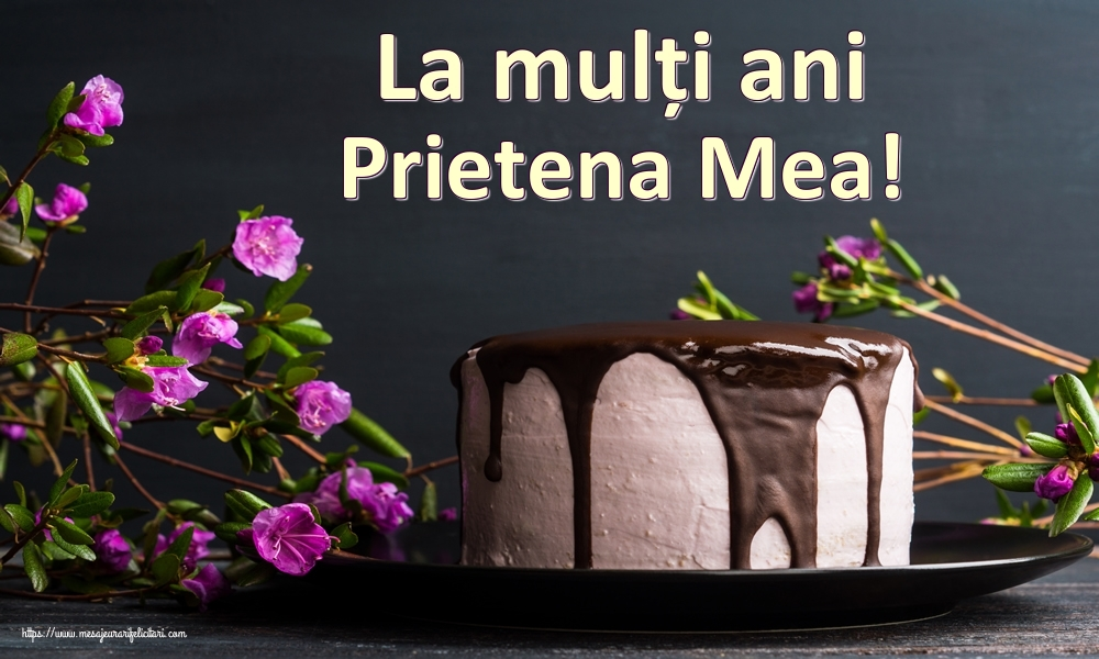 Felicitari frumoase de zi de nastere pentru Prietena | La mulți ani prietena mea!