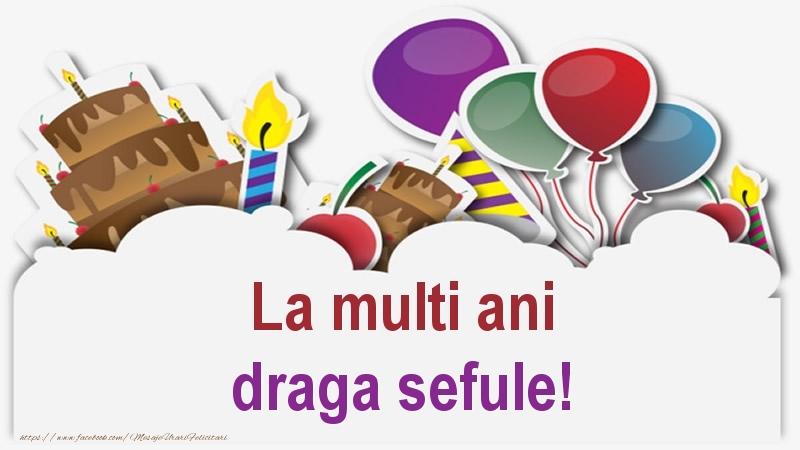 Felicitari frumoase de zi de nastere pentru Sef | La multi ani draga sefule!