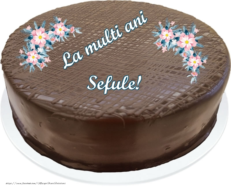Felicitari frumoase de zi de nastere pentru Sef   La multi ani sefule! - Tort de ciocolata