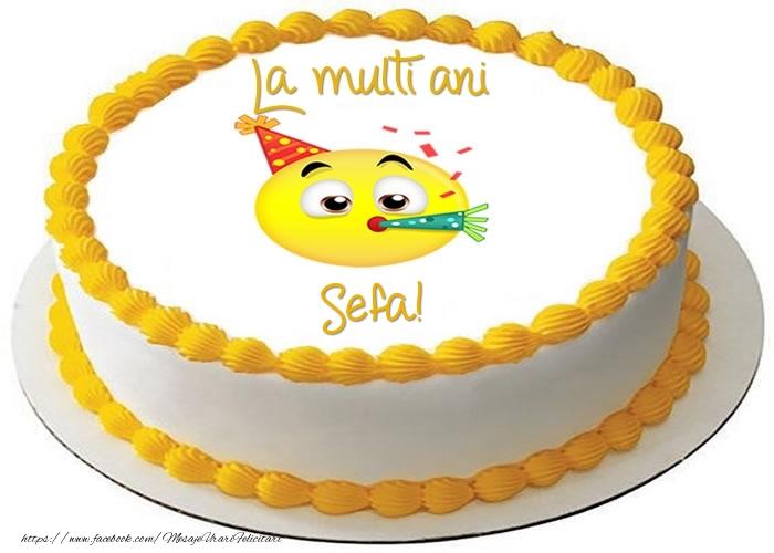 Felicitari frumoase de zi de nastere pentru Sefa | Tort La multi ani sefa!