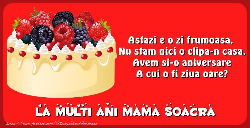 Felicitari frumoase de zi de nastere pentru Soacra | La multi ani mama soacra