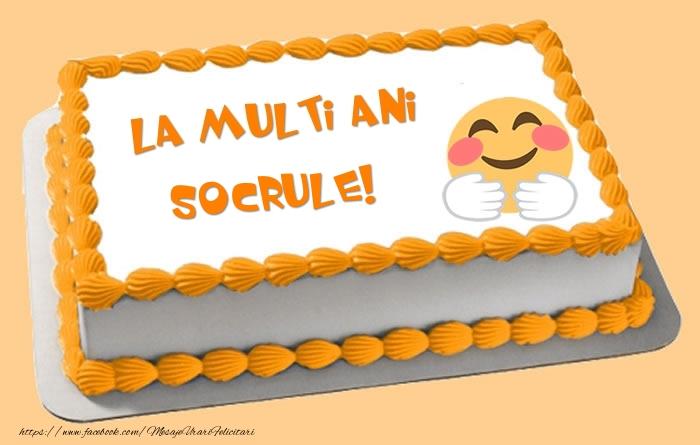 Felicitari frumoase de zi de nastere pentru Socru | Tort La multi ani socrule!
