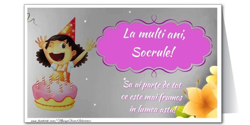 Felicitari frumoase de zi de nastere pentru Socru | La multi ani, socrule. Sa ai parte de tot  ce este mai frumos  in lumea asta!