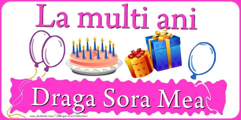 Felicitari frumoase de zi de nastere pentru Sora   La multi ani, draga sora mea!