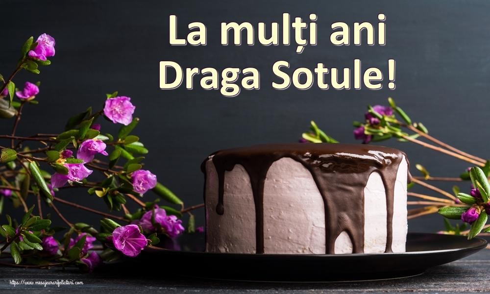 Felicitari frumoase de zi de nastere pentru Sot | La mulți ani draga sotule!