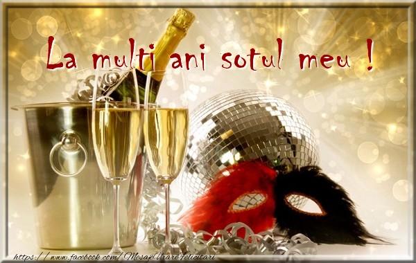 Felicitari frumoase de zi de nastere pentru Sot | La multi ani sotul meu !