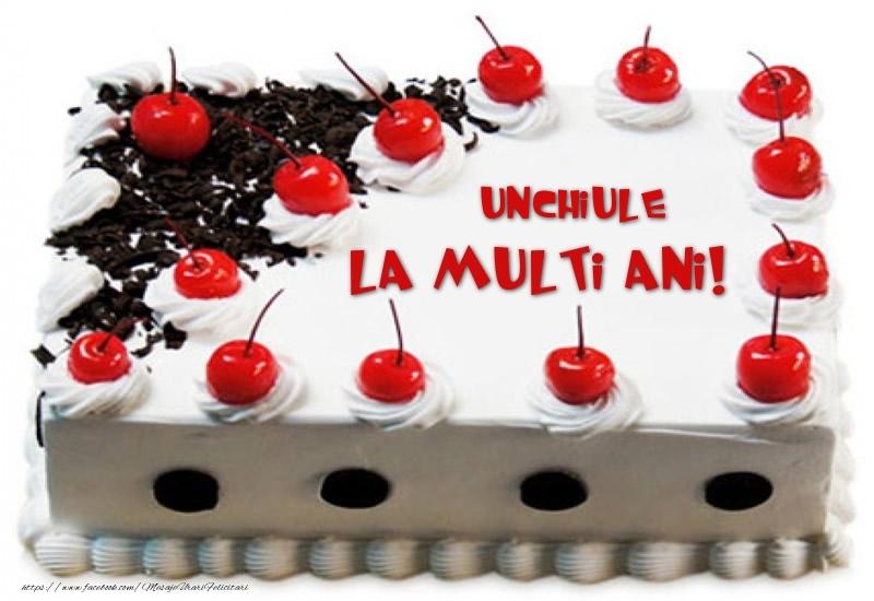 Felicitari frumoase de zi de nastere pentru Unchi | Unchiule La multi ani! - Tort cu capsuni