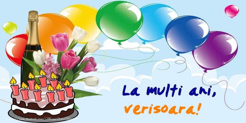 Felicitari frumoase de zi de nastere pentru Verisoara   La multi ani, verisoara!