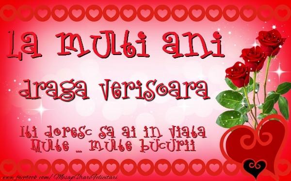 Felicitari frumoase de zi de nastere pentru Verisoara | La multi ani draga verisoara
