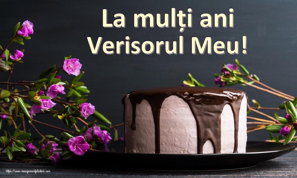 Felicitari frumoase de zi de nastere pentru Verisor   La mulți ani verisorul meu!